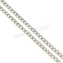 Gets.com 925 sterling silver long chain bracelet