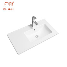 Factory price bathroom cabinet simple wash basin sink