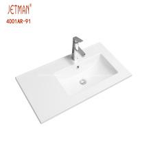Precio de fábrica mueble de baño lavabo simple lavabo