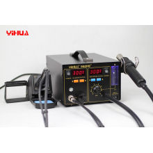High Power Pcb / Ic 3 In 1 Soldering Station With Iron Smoke Absorber