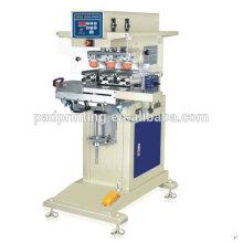 Venda quente Pneumatic 3 cores dongguan tecla botão pad máquina de impressão com copo de tinta