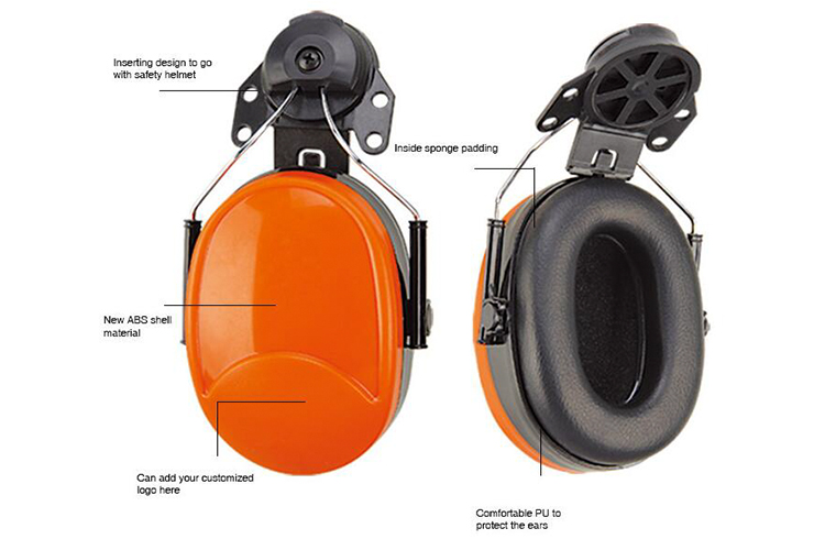 earmuff for safety helmet EM106