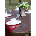 Rattan Pattern 6FT Folding Table Outdoor Table