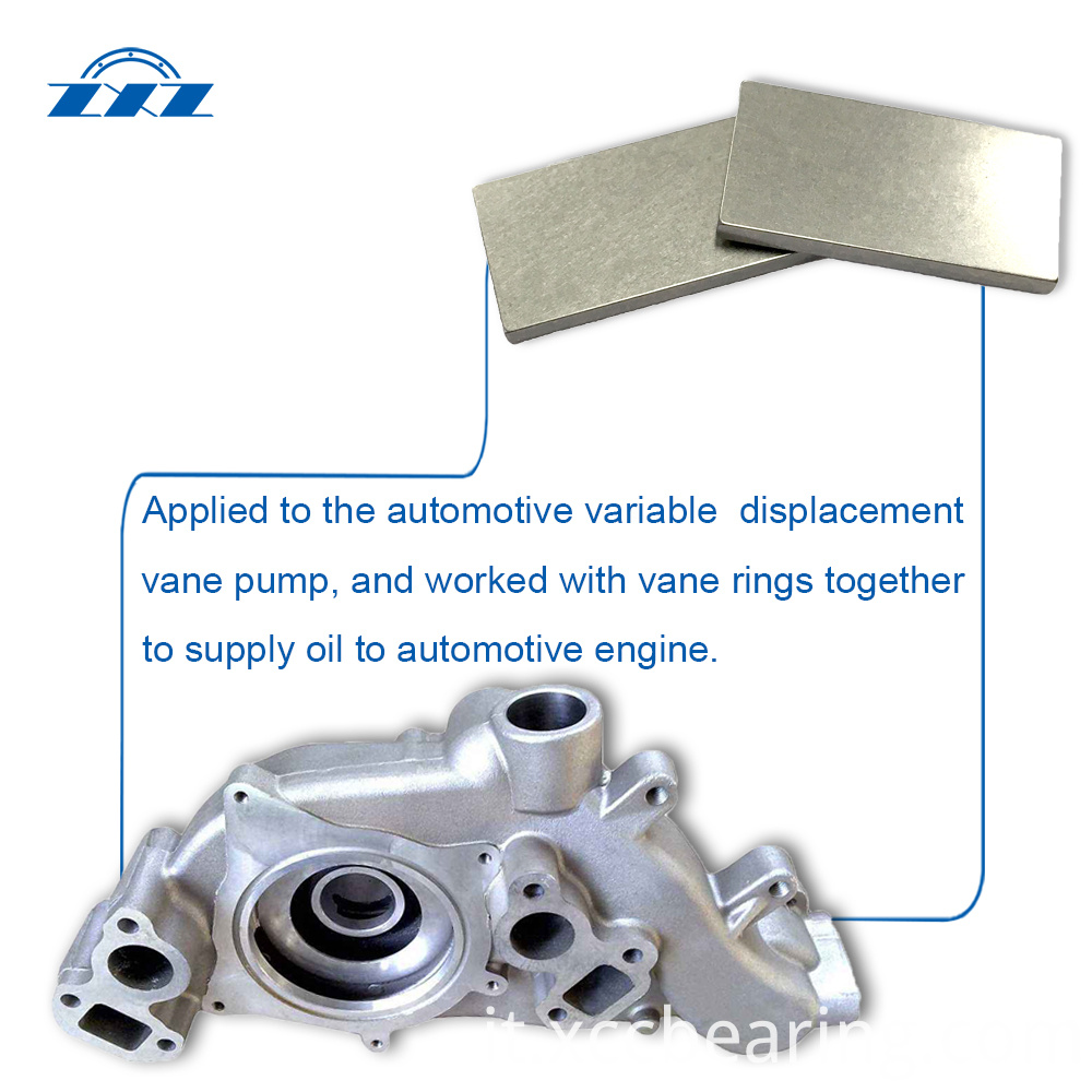 Auto Parts Vane Of Oil Pump