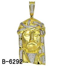 Colgante de joyería de plata esterlina chapada en oro 14k