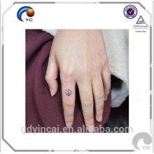 Design de tatuagem personalizado design simples CMYK pequena etiqueta temporária tatuagem para uso normal