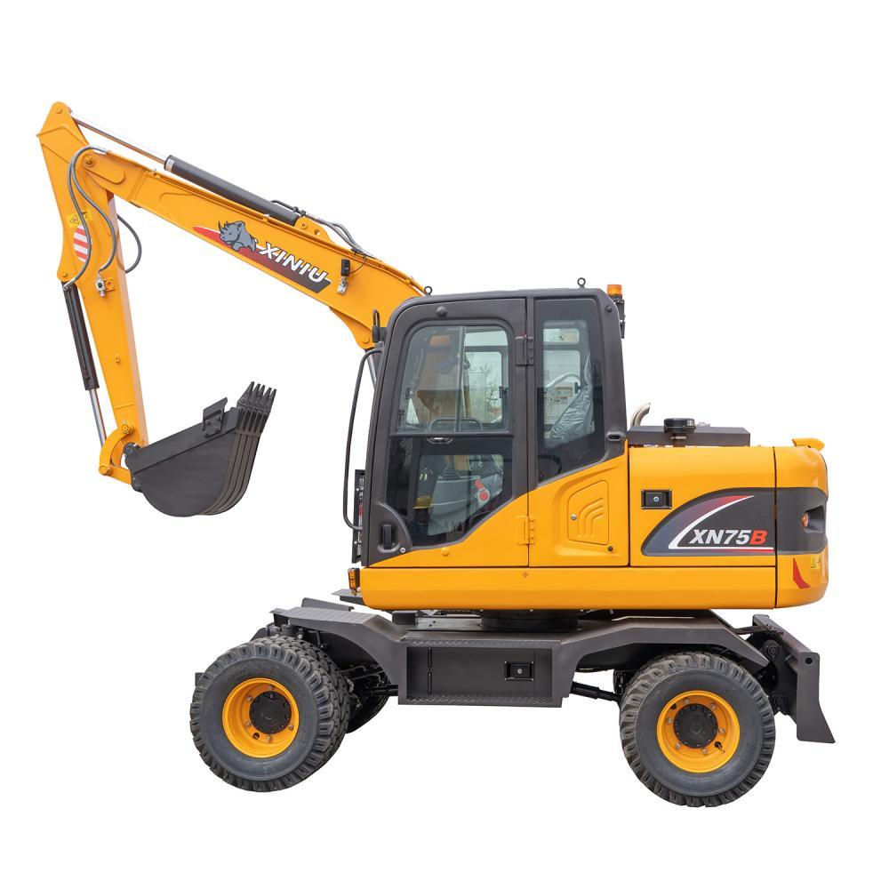 6 Ton Wheel Excavator Xn75b 6