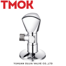 chromed plated stainless steel sanitary triangle angle valve
