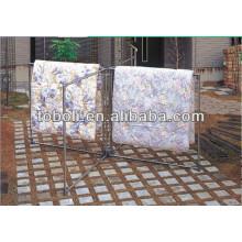 Folding Outdoor teto roupas cabide de secagem cabide