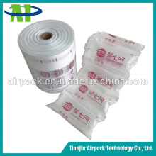 Paquete de cojín inflable vacío del amortiguador de aire de la película del paquete del amortiguador
