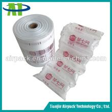 Película inflável do saco de ar do pacote do coxim do vácuo do empacotamento protetor