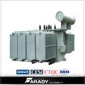 3 Phasen 500 kVA am Laststufenschalter-Öltransformator