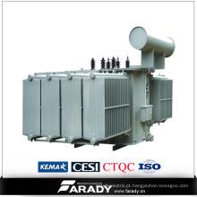 11kv elétrico transformador do óleo do transformador da distribuição de 3 fases do transformador da fase