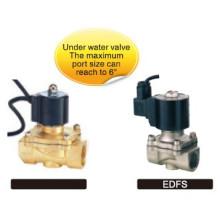 EDF series valves used in water