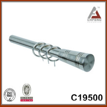 C19500 aluminium column curtain rod finial curtain rod