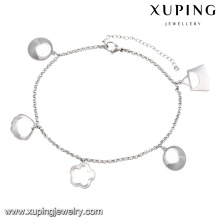 74531-xuping fashion anklet steel jewelry ,women indian anklet jewelry