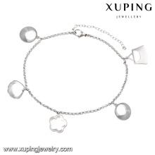 74531-xuping мода ножные браслеты стальные украшения, женские индийские браслеты