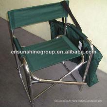 Chaise réalisateur léger en aluminium avec sac de transport pratique