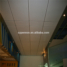 Various Pattern 600 * 600MM Suspended Metal Aluminum Ceiling Board Lay On Ceiling Tiles