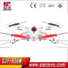 Foldable Helicopter Original Syma X56W Newest Drone Folding Quadrocopter X56W 0.3MP Camera Wifi Real-time Dron SJY-X56W