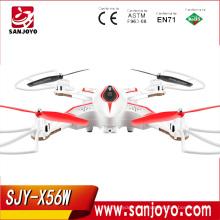 Dobrável Helicóptero Original Syma X56W Mais Novo Drone Quadrocopter X56W 0.3MP Câmera Wi-fi Em Tempo Real Dron SJY-X56W