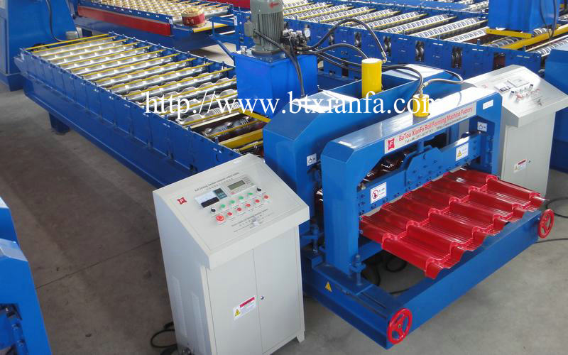 Glaze Tile Roofing Machine