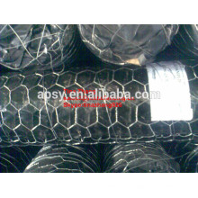 Fabrication hexagonale de fil / boîte de Gabion / fabrication hexagonale de fil de mur de soutènement
