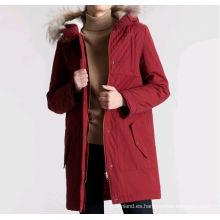 2015 fábrica china de prendas de vestir chaqueta de invierno europeo