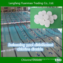 Embalaje de ampolla de dióxido de cloro para piscina de natación ecológica Desinfectar