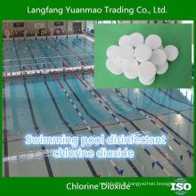 Emballage au blister à base de chlore pour la désinfection de la piscine de natation écologique