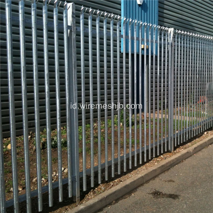 D Section Palisade Security Fencing
