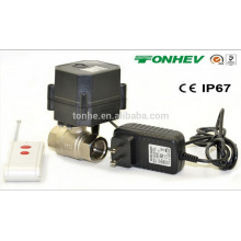 Pohs/NSF Miniature Wireless Controller and Water Valve with Automatic Water Shut off System