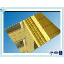 Aluminio / Aluminio Flotante / Brillante / Pulido / Espejo Hoja para Decoración / Lámpara / Iluminación