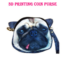 Womens Bags Funny Lifelike Animals 3d Printed Dog Head Dress Handbags Cosplay Plush Toy Lover Gift