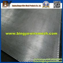 Metal perforado de acero inoxidable para barandilla