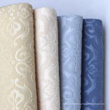 European Embossed Craft toalha de veludo tecido