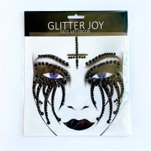 New Face Jewels Temporary Body Tattoo sticker rhinestone stickers face gem body art for festival birthday party decoration