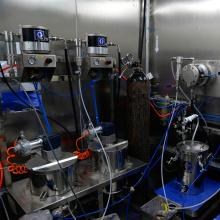 Machine de peinture au pistolet pour la ligne de revêtement de traitement UV