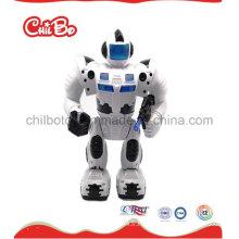 Black White Robot Promotion cadeau jouet en plastique (CB-PM021-S)