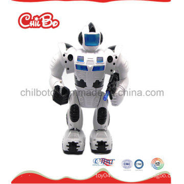 Black White Robot Promotion Gift Plastic Toy (CB-PM021-S)