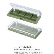 Пустой пластиковый компактный футляр для теней для век