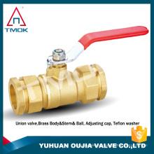 Las válvulas de bola de alta presión son resistentes a componentes químicos de diámetro 50