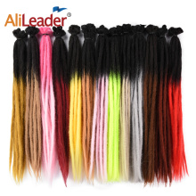 Ombre Dread Locks Synthetic Crochet Hair 2Tone Colors