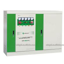 Настраиваемая серия SBW-400k с тремя фазами Компенсированная мощность переменного тока Регулятор напряжения / стабилизатор