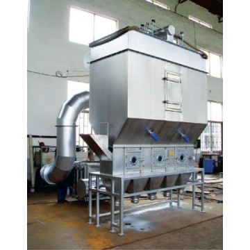 Continu horizontaal Fluidized Bed droger Machine