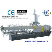 HS High-quality SHJ-75 Pet Reclamation and Recycling Pelletizing Extrusion Machine