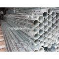 BS1387 Tubo de aço galvanizado médio ERW