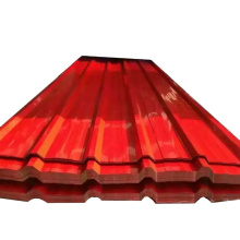 PPGI roofing plate color coated corrugated sheet for prefab container house