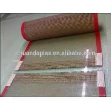 China bajo precio ptfe fibra de vidrio recubierto malla cinta transportadora Proveedor de la elección