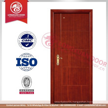 Interior Wood Door Made in China , Simple Design Composite Wood MDF Melamine Skin Door